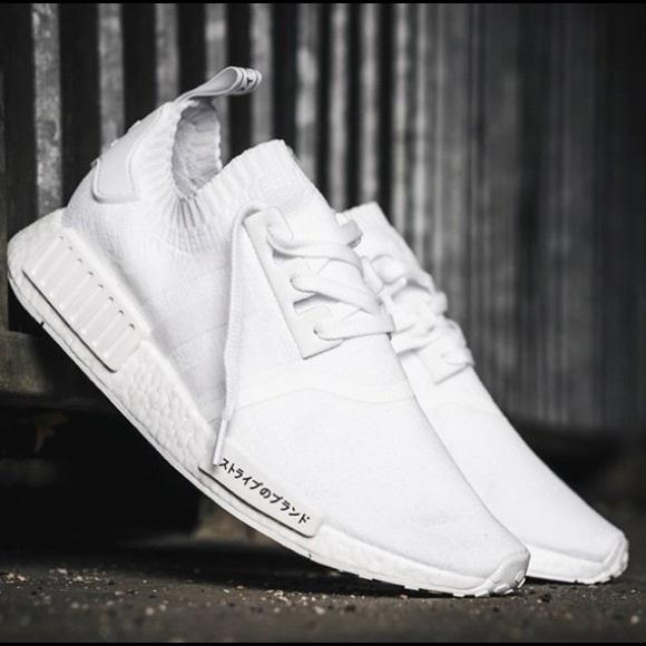 e8f5db39e3fdb adidas Shoes - Adidas NMD R1 Primeknit Japan triple white
